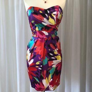 Formal Floral Strapless Dress B. Darlin